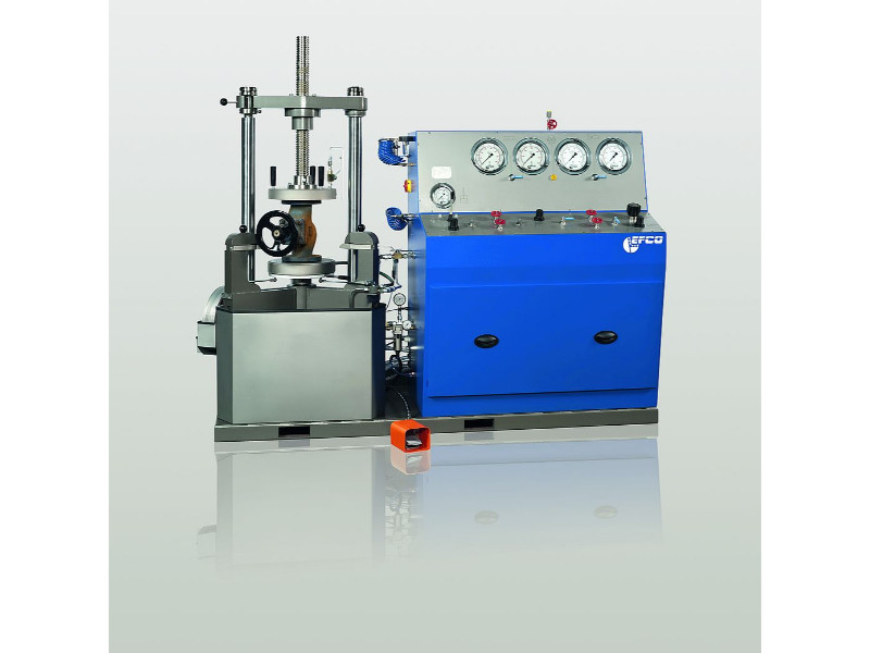 Vertical Testbench for Safety and Shut Off Valves PS-15/30/50/75 (DN 15 - DN 500)